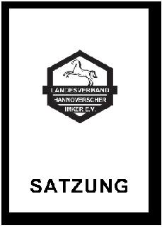 Satzung Landesverband Hannover